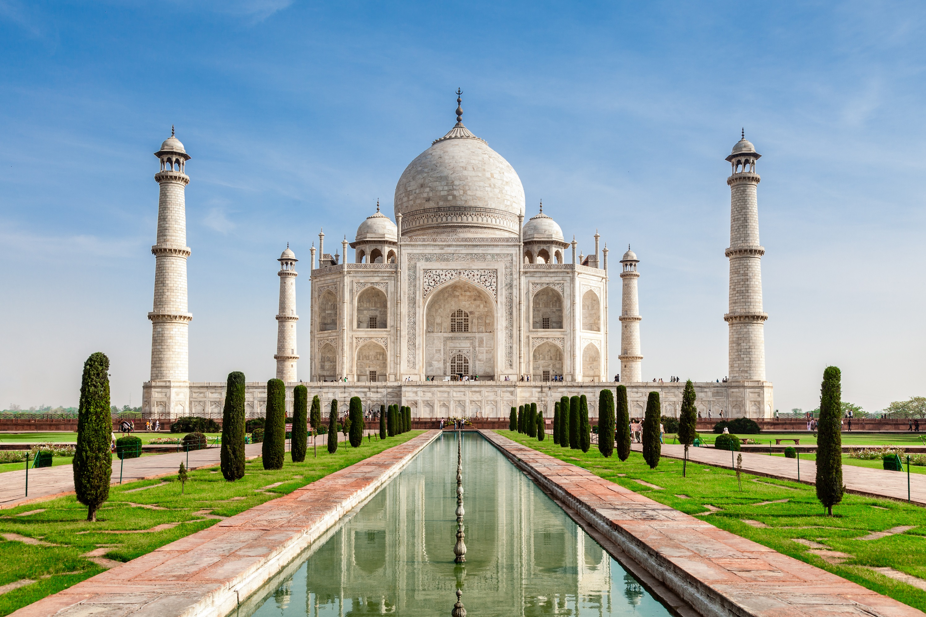 Taj Mahal- The 7th Wonder.