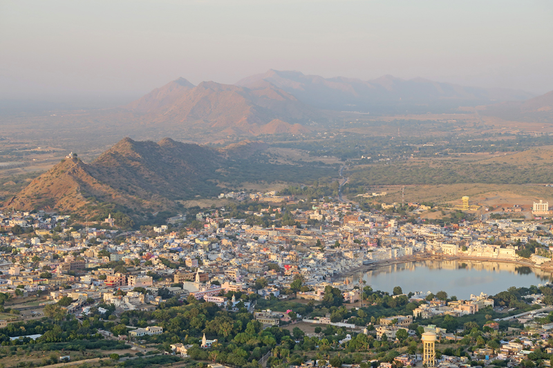 pushkar-town-view