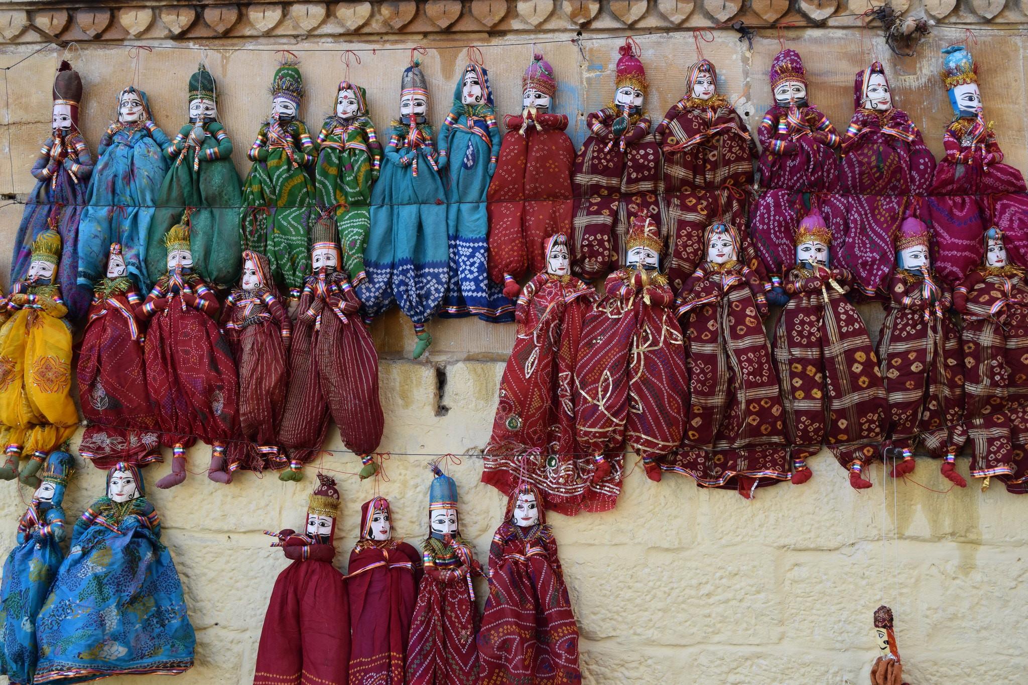 rajasthani-puppets