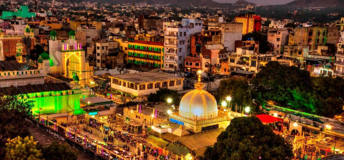 The Ajmer Dargah on Milad-un-Nabi.
